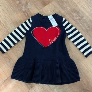 NWT baby sweater dress